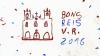 Desenho de atividade religiosa - Igreja de Meca